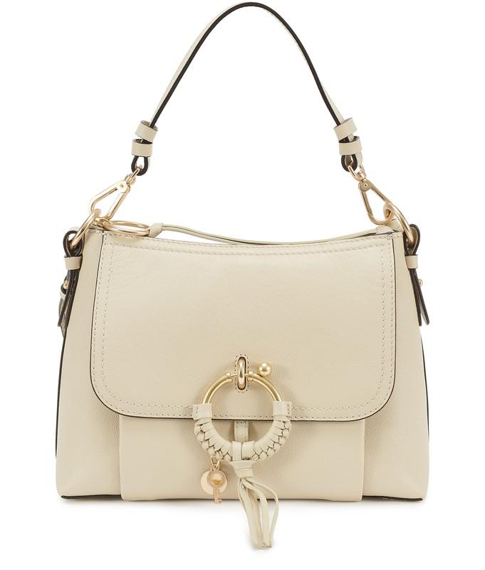 씨 바이 끌로에 See by Chloe Joan small Hobo bag,cement beige