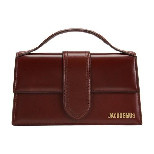 Jacquemus Dark Brown Le Grand Bambino Leather Cross-body Bag