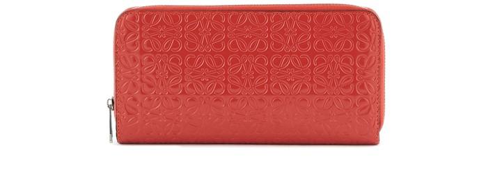 로에베 지갑 LOEWE Zipped wallet,pomodoro