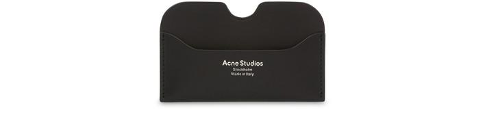 아크네 스튜디오 카드 지갑 Acne Studios Card holder,black