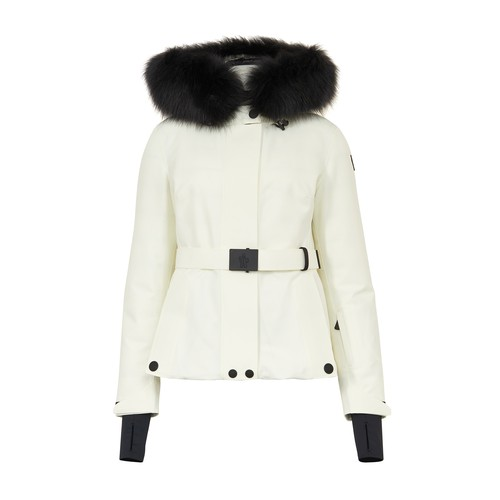 Moncler Grenoble Laplance Down Jacket In White