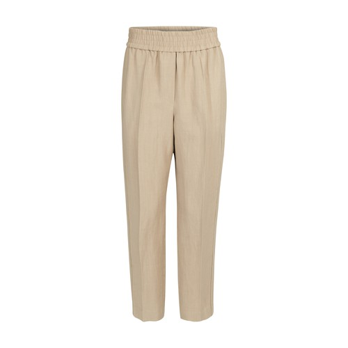 Brunello Cucinelli Silks PULL-ON TROUSERS