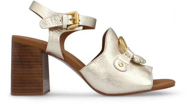 씨 바이 끌로에 See by Chloe Hana sandals,light gold