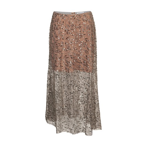 Self-Portrait MIDI SKIRT WITH SEQUINS