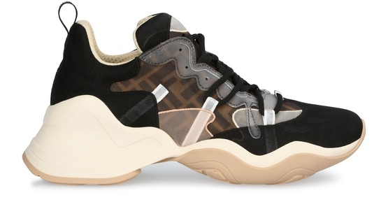 Women's Rococo Sneakers | FENDI | 24S