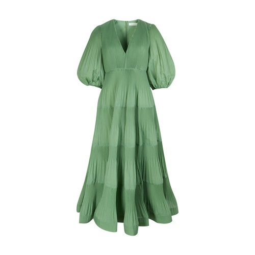Zimmermann PLEATED MIDI DRESS