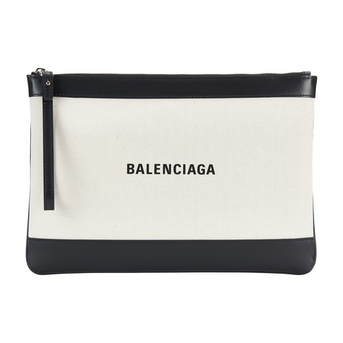 Navy Pouch M bag