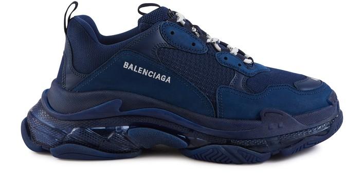 발렌시아가 트리플S 클리어 솔 스니커즈 Balenciaga Triple S Clear Sole Trainers,4107