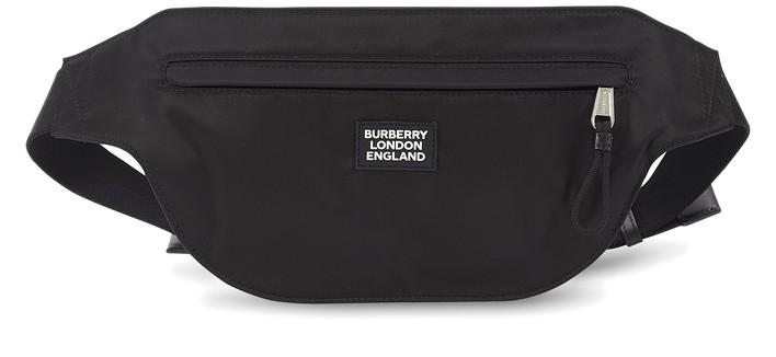 버버리 나일론 벨트백 Burberry Nylon belt bag,black