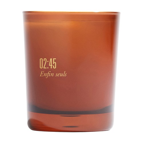 Scented candle 02:45