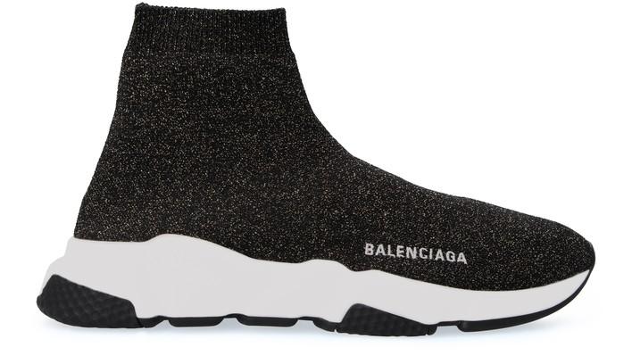 발렌시아가 스피드러너 LT - 블랙/골드/화이트 Balenciaga Speed LT trainers