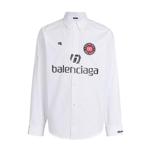 Long sleeve soccer shirt