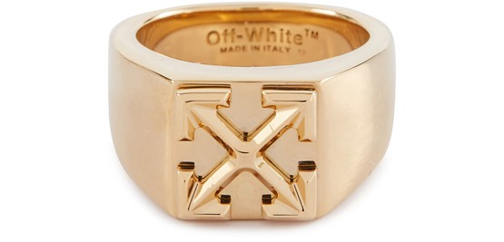 Off-White Jewelries ARROW RING