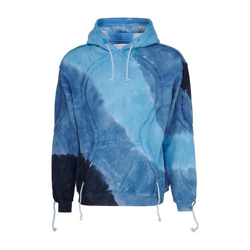 Tie and dye hoodie