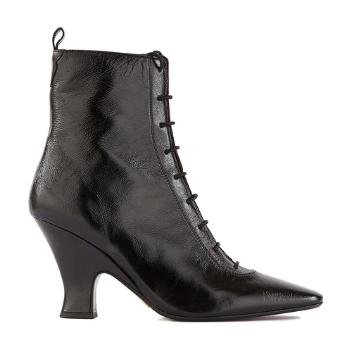 The Victorian leather boots