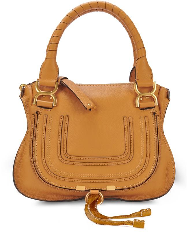 끌로에 마르씨 핸드백 미디움 - 어텀 브라운 Chloe Marcie handbag,autumnal brown