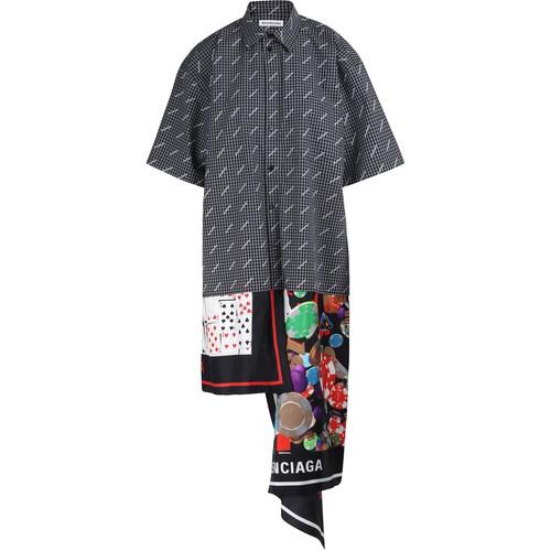 Robe-chemise Foulard