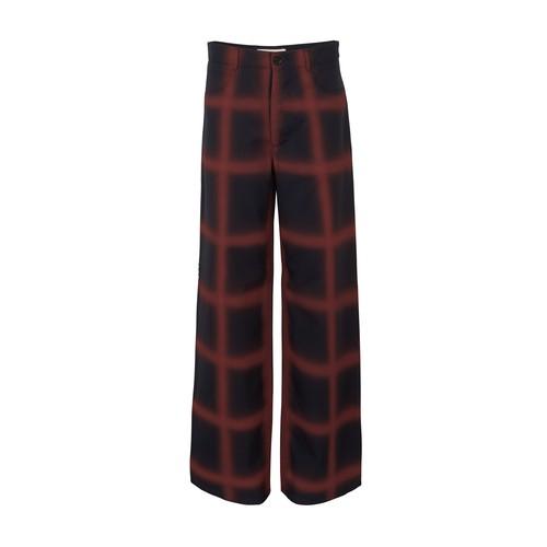 Marni Virgin Wool Trousers In Clay