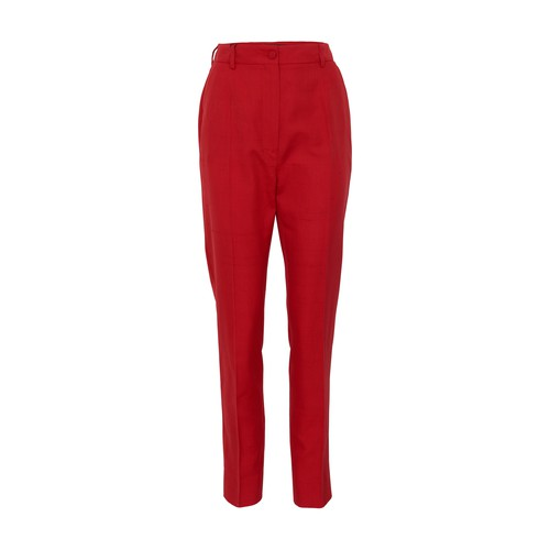 Dolce & Gabbana Pants In Rosso Lampone