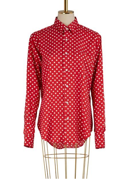 Ami Alexandre Mattiussi Dotted shirt