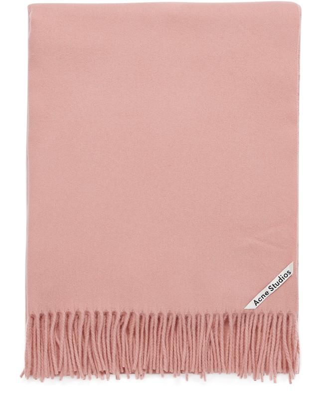 아크네 스튜디오 Acne Studios Canada scarf,pale pink