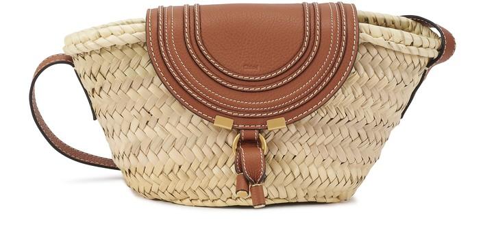 끌로에 Chloe Marcie small basket bag,tan