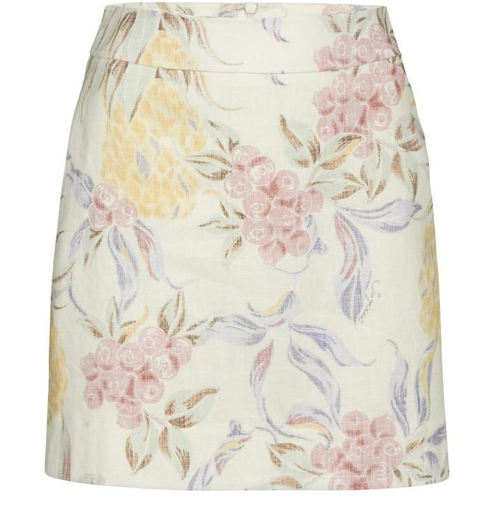 씨 바이 끌로에 See by Chloe Mini skirt,multicolor/white