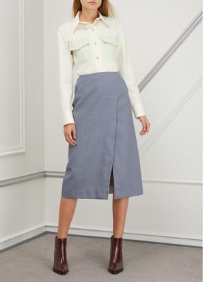 Virgin wool uniform shirt